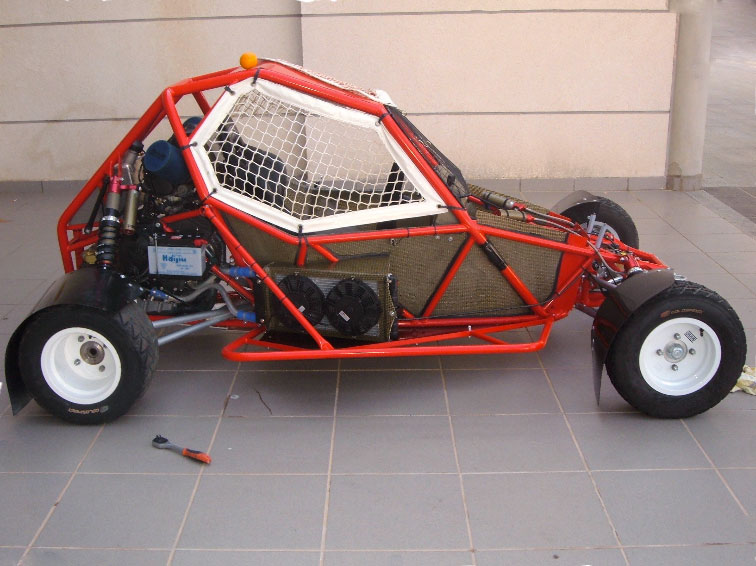 sprintcar camotos evosprint kartcross monoplace voiture